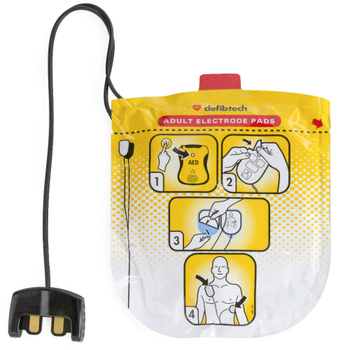 Defibtech VIEW Electrode Pads Adult Product Photo