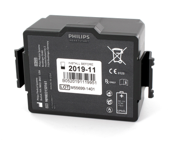 Philips FR3 AED Battery Product Photo