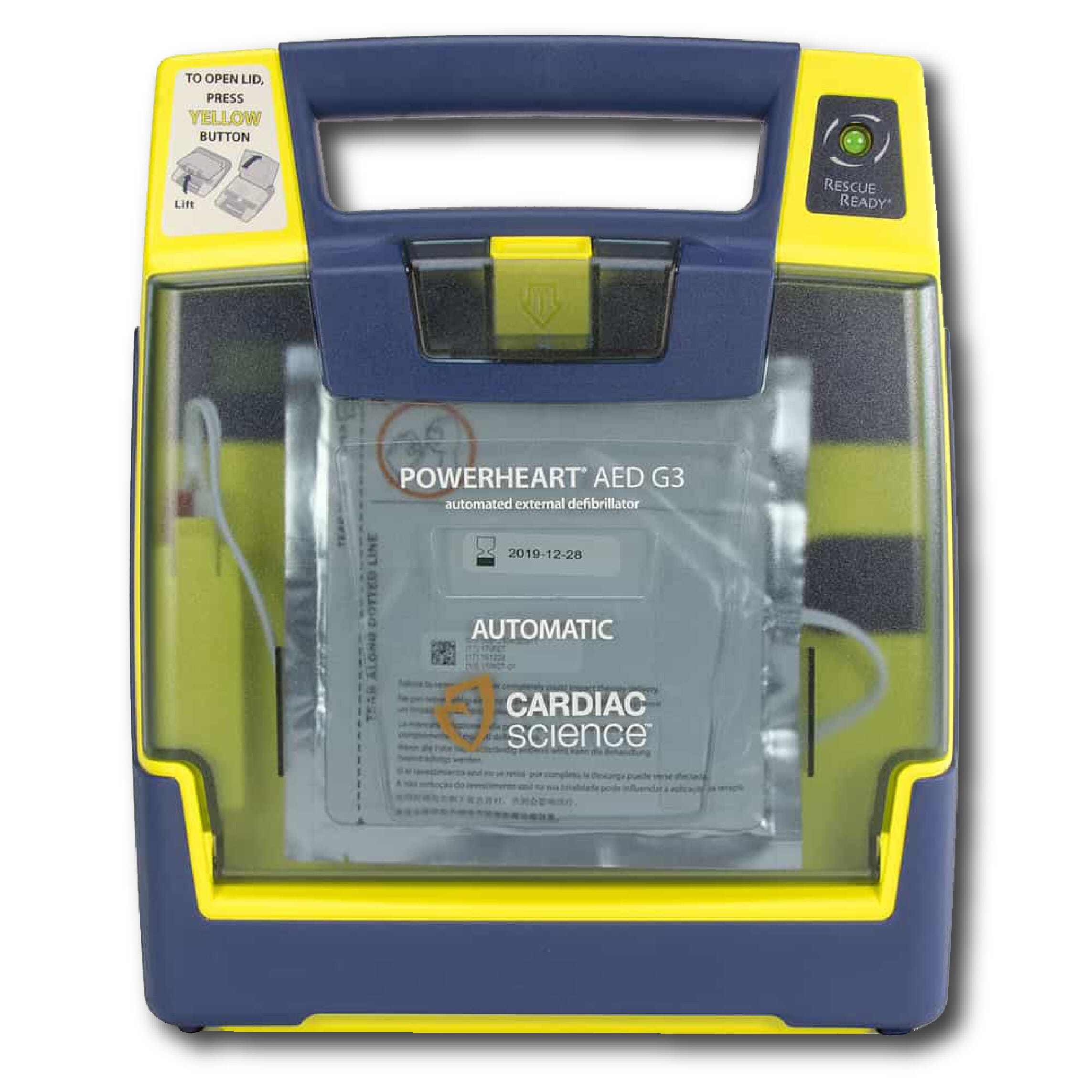 Cardiac Science G3 AED in Fremont