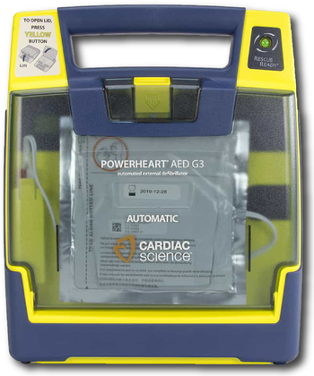 Cardiac Science G3 AED Semi Automatic Product Photo