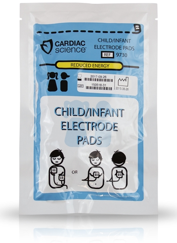 Cardiac Science G3 AED Pedi Pads Product Photo