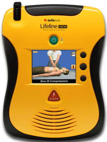 Defibtech Lifeline View AED Product Photo