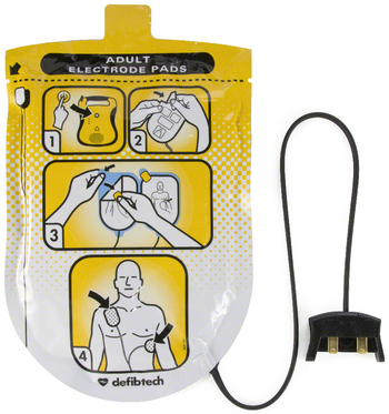 Defibtech Lifeline Electrode Pads Adult Product Photo