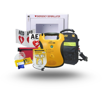 Defibtech Lifeline Fully Automatic Package