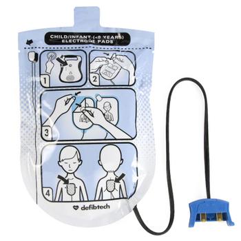 Defibtech Lifeline Electrode Pads Pediatric Product Photo