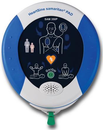 HeartSine Samaritan 350P AED Product Photo