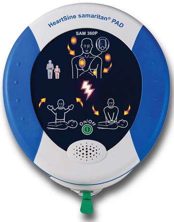 HeartSine Samaritan 360P AED Product Photo