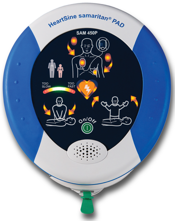 HeartSine Samaritan 450P AED Product Photo