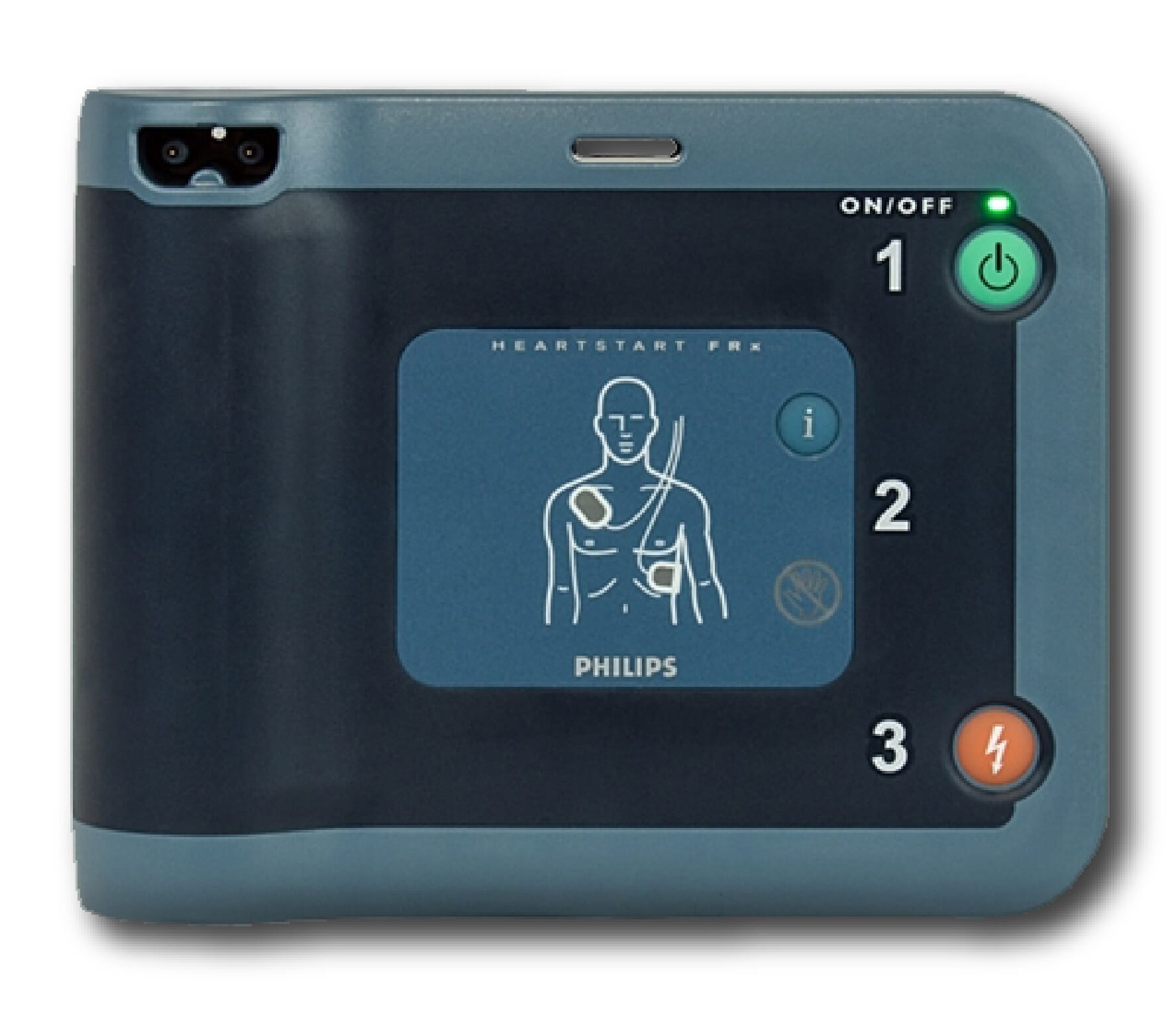 Philips HeartStart FRx AED in Laredo