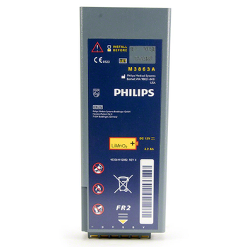 Philips FR2 AED Battery Product Photo
