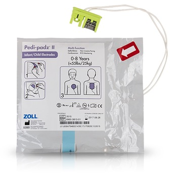 ZOLL Pedi Padz II - Pediatric Electrode Pads Product Photo