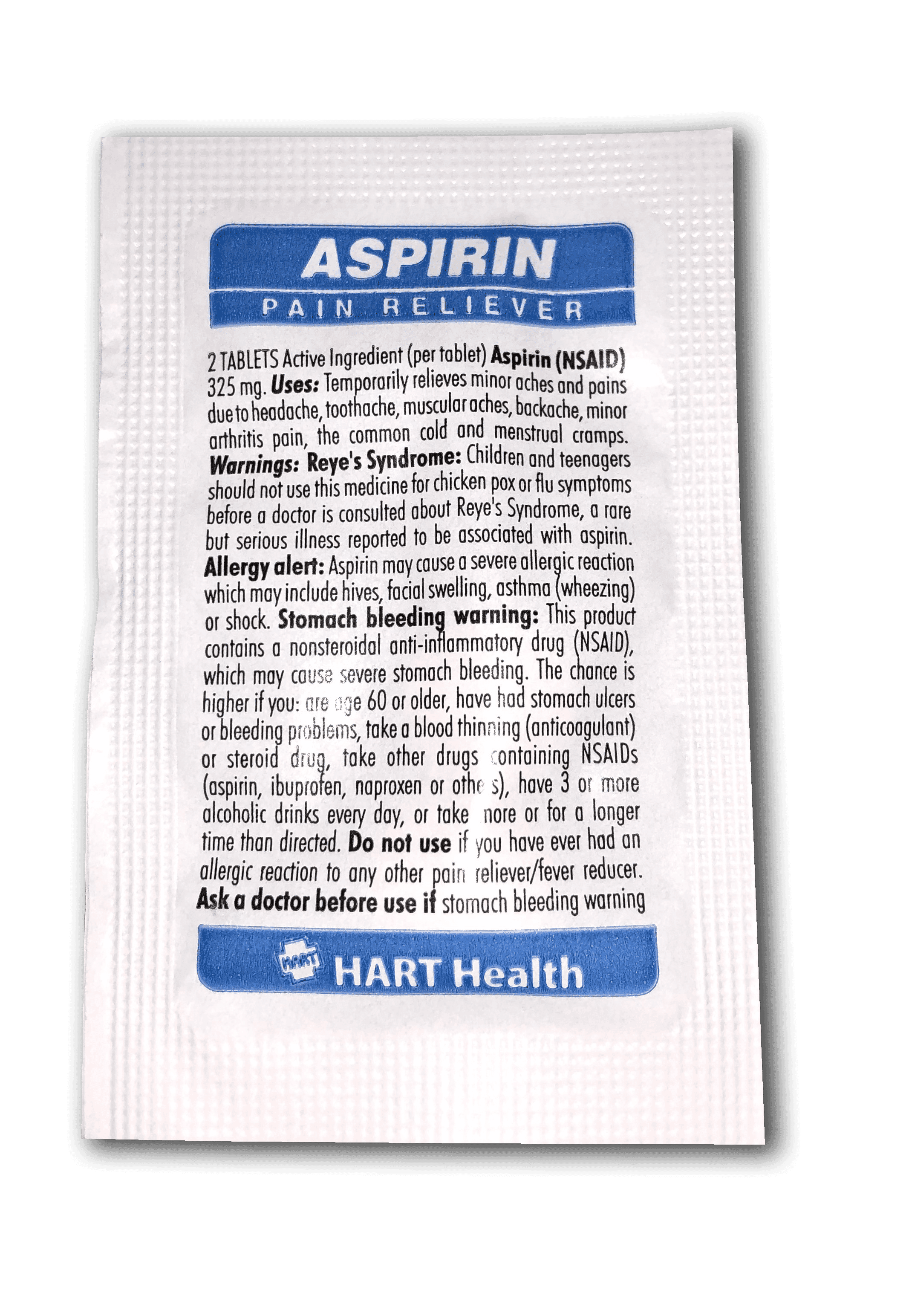Aspirin Product Photo